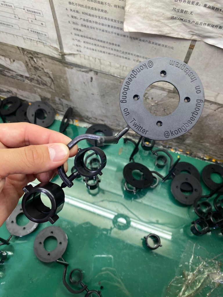 ABS Plastic Part Quality Control Inspection