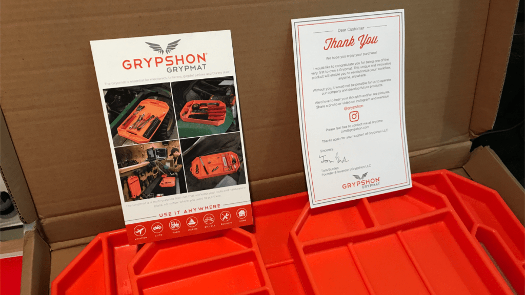 Grypmat - Packaging Inserts