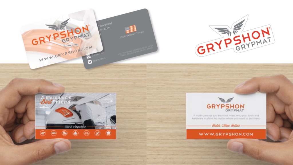 Grypmat - Promotional Cards