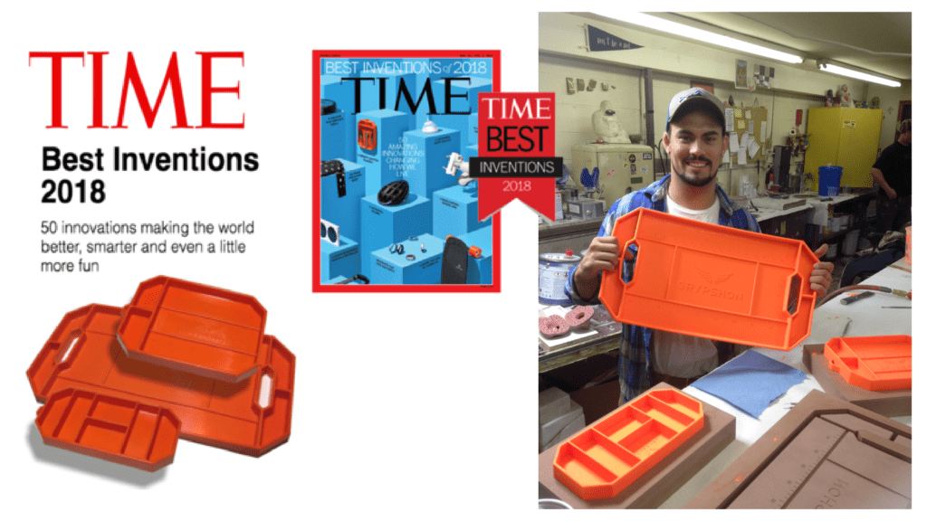 Feature in Time Magazine