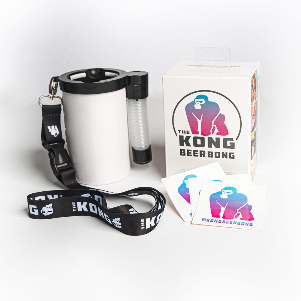 Kong Beer Bong + Retail Packaging