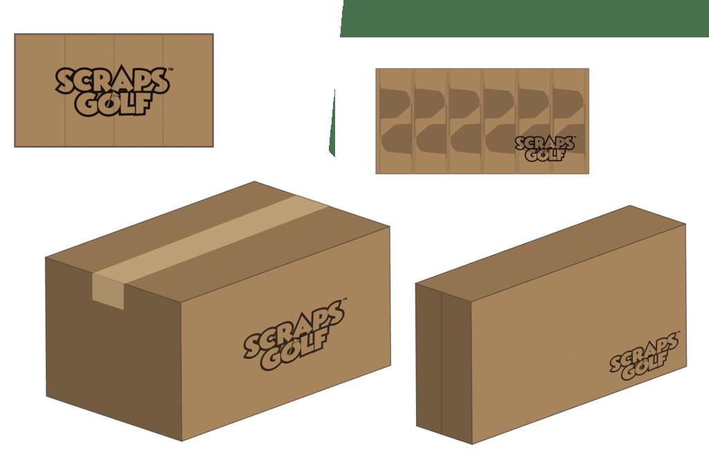 Scraps Carton Mock-ups