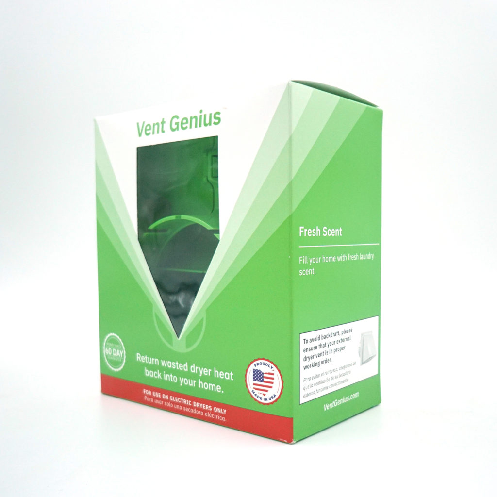 Vent Genius Packaging - 3/4 View