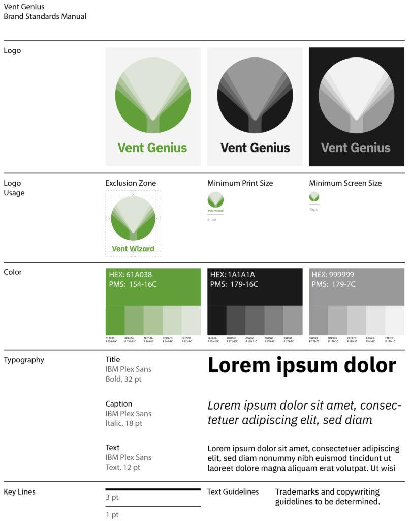 Vent Genius Style Guide