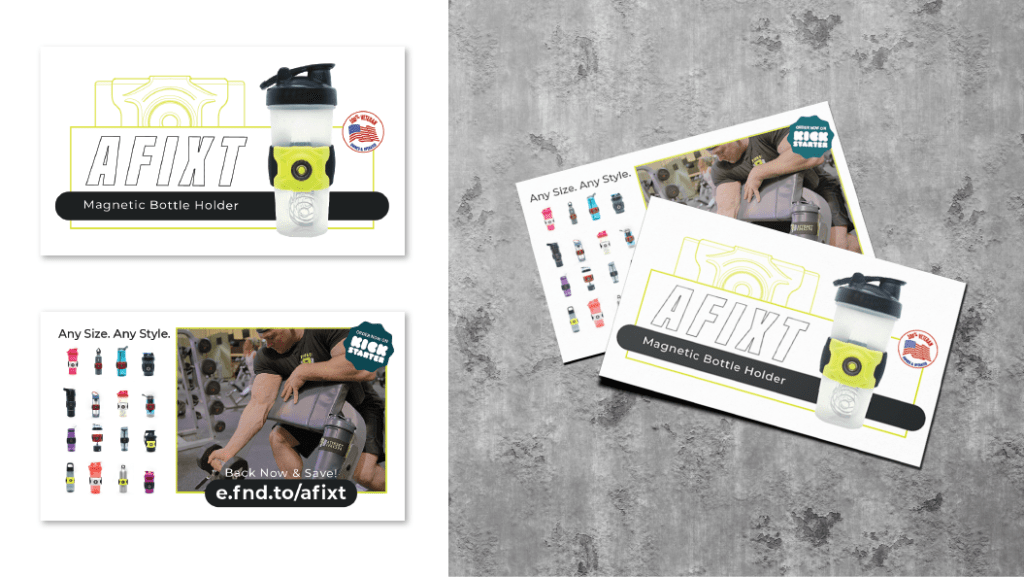 Promotional Graphic Cards